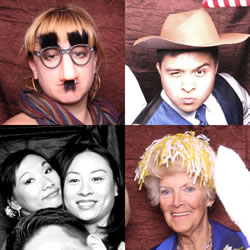 Photo Booth Del Sol is fun for all ages