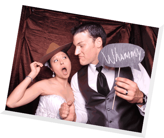 fun photos with our photo booth