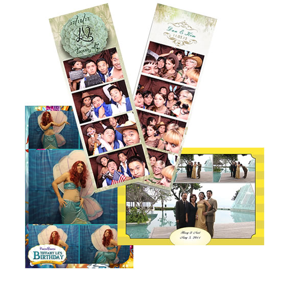 Multuple Photo Layouts and Custom Branding